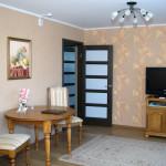 Современны апартаменты с 1 спальней в гостинице Молодечно.